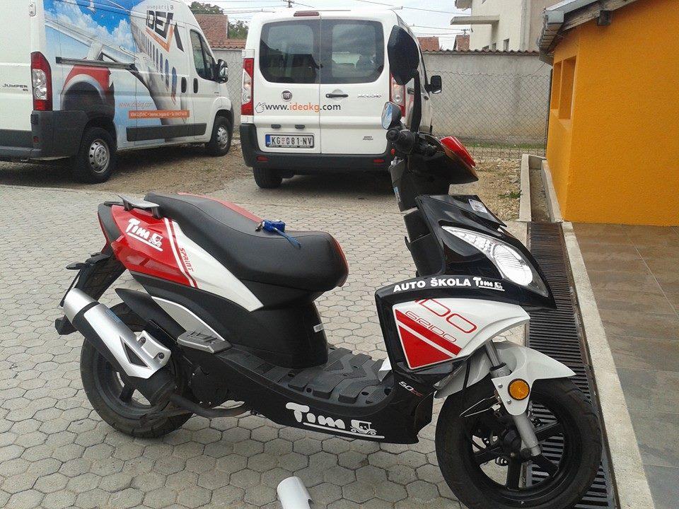 Moped Sprint Grido 49cm3